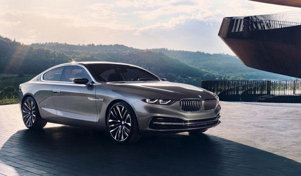 BMW Pininfarina Gran Lusso Coupe tres cuartos delanteros
