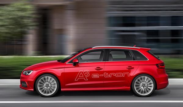 El Audi A3 e-tron ofrecerá un consumo mixto de 1,5 l/100 km