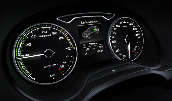 En modo 100% eléctrico, el Audi A3 e-tron puede llegar a recorrer hasta 50 km