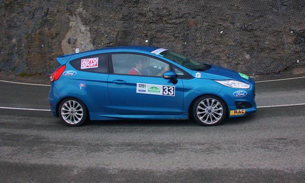 V Eco Rallye Vasco Navarro 2013 Ford Fiesta