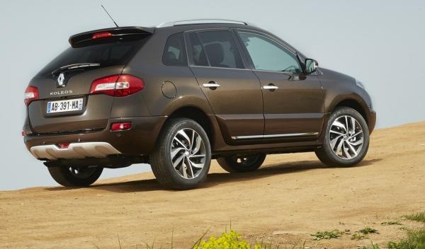 Renault Koleos trasera