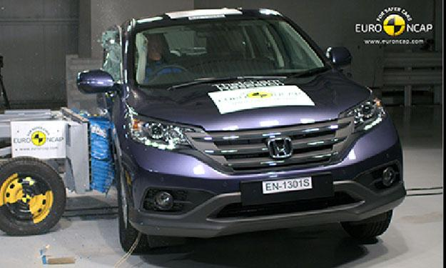 Honda CR-V lateral
