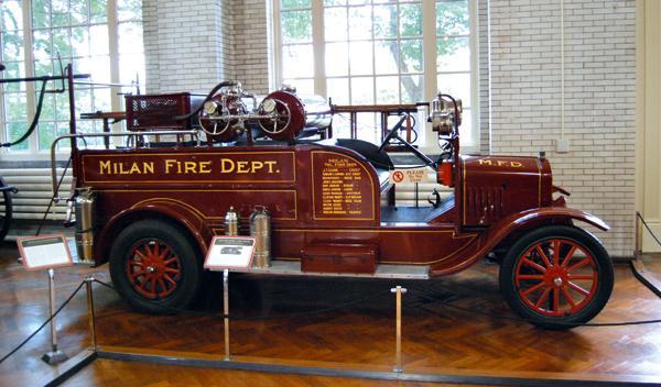 Camión de bomberos de 1920