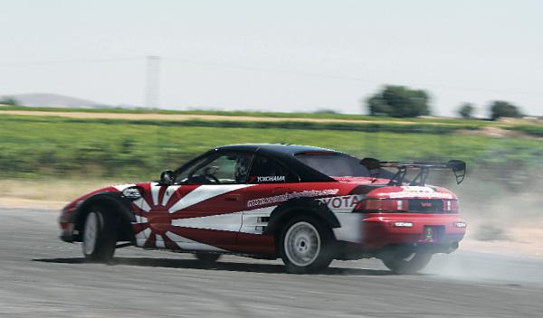 Toyota MR2 Hugo Soto derrape drift drifting