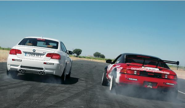 BMW M3 Toyota MR2 derrape drift drifting