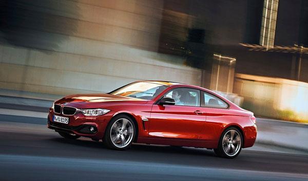 BMW Serie 4 tres cuartos delantera izquierda