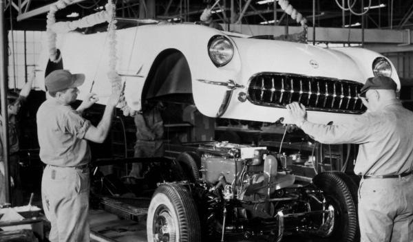 Fabricación Corvette
