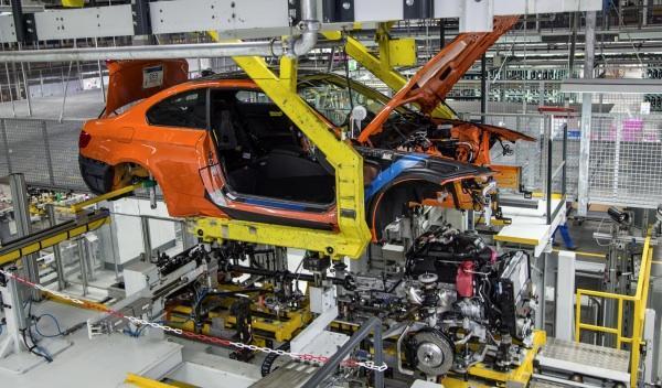 El último BMW M3 entra en la cadena de producción