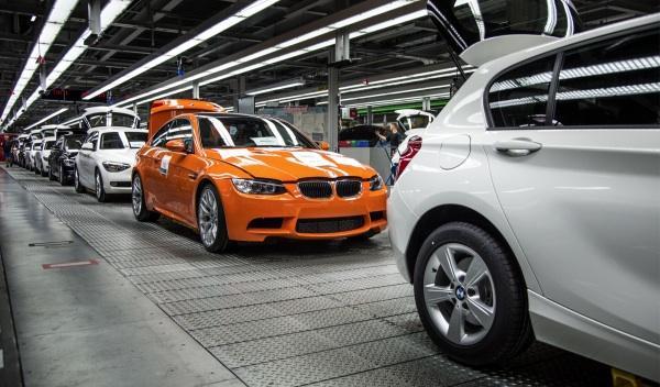 El último BMW M3 coupé en la cadena de montaje