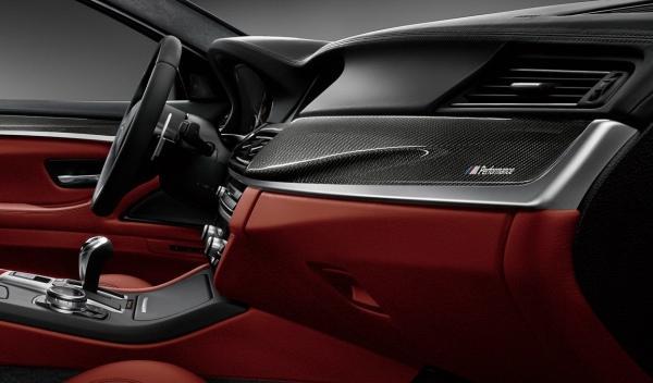 BMW M5 Nighthawk carbono interior