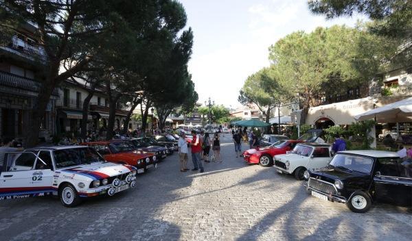 Rally de Regularidad (II Clasica Autobild) Parque Cerrado