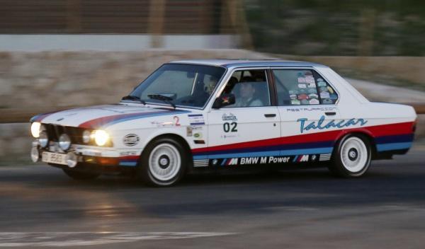 Rally de Regularidad (II Clasica Autobild) BMW 520