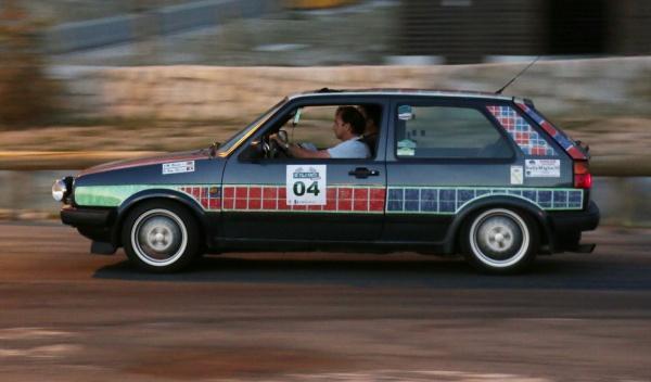 Rally de Regularidad (II Clasica Autobild) Volkswagen Golf GTI