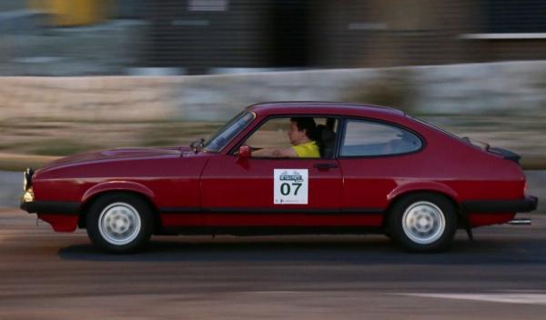 Rally de Regularidad (II Clasica Autobild) Ford Capri 2.8i