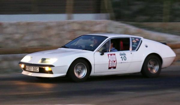 Rally de Regularidad (II Clasica Autobild) Alpine A 310