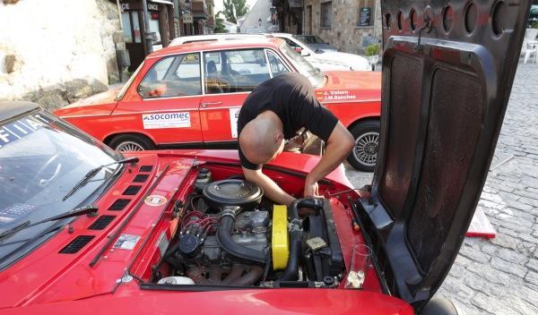Rally de Regularidad (II Clasica Autobild) Fiat 124 Spider