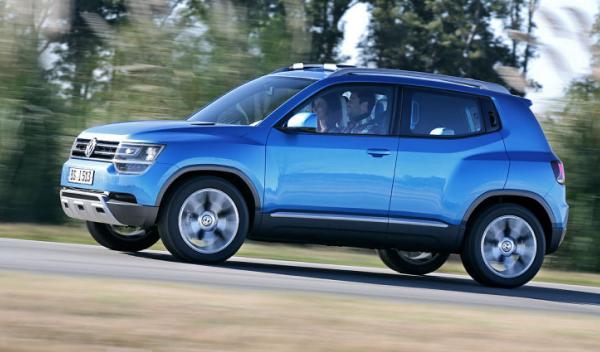 Volkswagen Taigun lateral