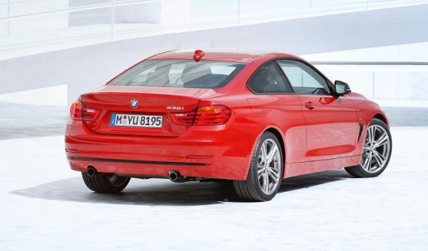 Nuevo BMW Serie 4 trasera estática