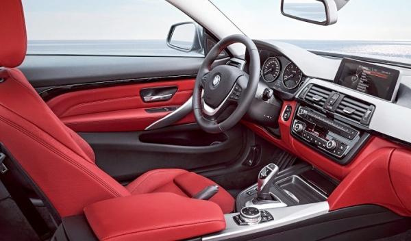 Nuevo BMW Serie 4 puesto conducción