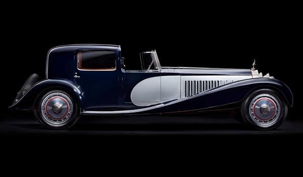 Bugatti Type 41 Royale perfil