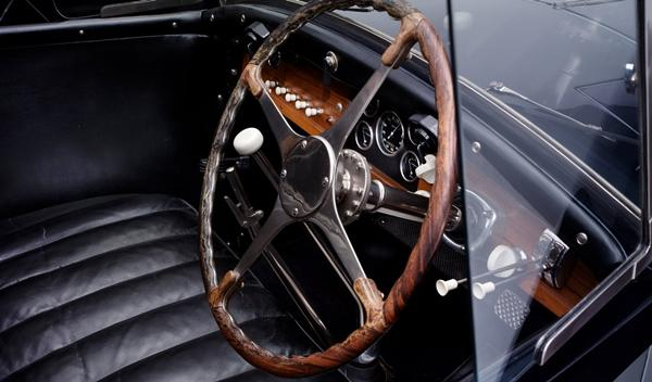 Bugatti Type 41 Royale interior
