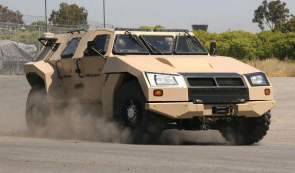 Prototipo Humvee Valanx