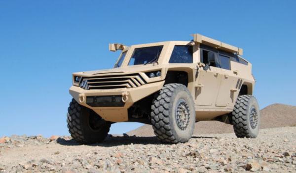 Prototipo Humvee Mille Works