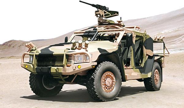 Prototipo Humvee Thales Hawkei