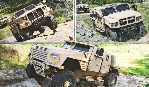 Sucesores Humvee: Oshkosh, AM General y Lockheed Martin