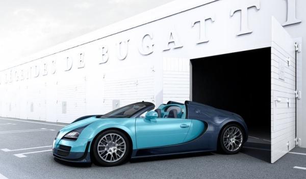 Bugatti Veyron Jean-Pierre Wimille lateral