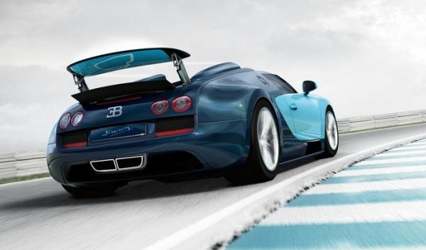 Bugatti Veyron Jean-Pierre Wimille trasera