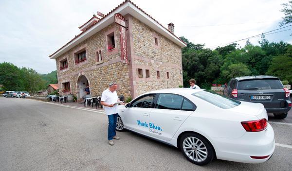 La Think Blue Challenge se desarrolló en el entorno de los Picos de Europa