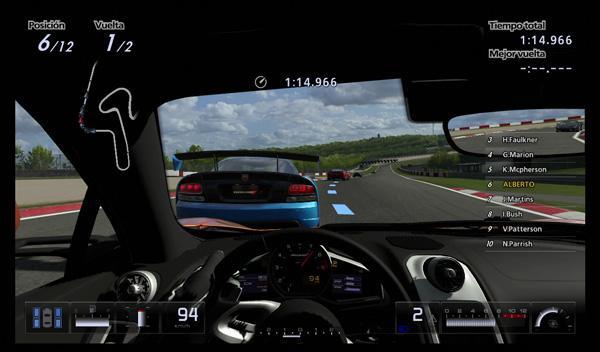 Otra clave de la saga GT es la sensación de inmersión detrás del volante
