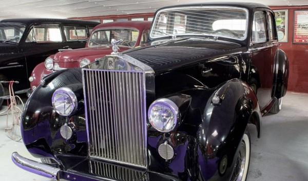"Museo Coches de Cine Rolls Royce ""Deseo"""