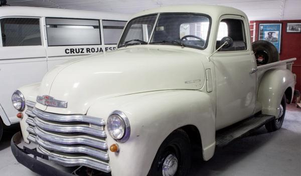 "Museo Coches de Cine Chevrolet Pick Up ""El Punto de Mira"""