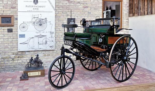 Triciclo de Carl Benz
