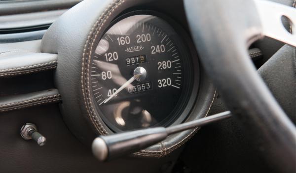 El cuentakilómetros del Lamborghini Miura P400S de 1969 indica solo 3.953 km