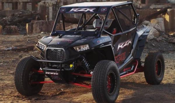 Buggy RZP XP 1000 tres cuertos delantero