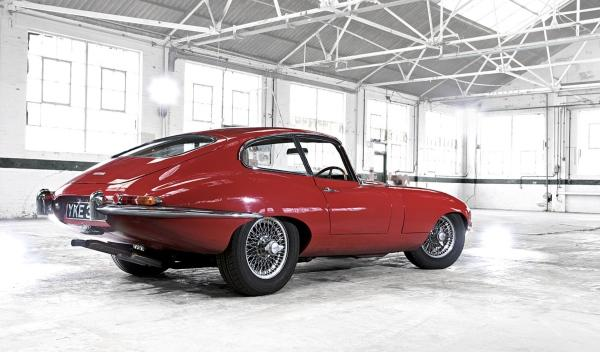 Jaguar E-Type Richard Hammond