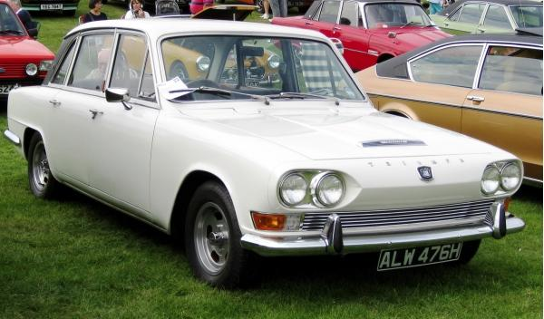 Triumph 2000 James May