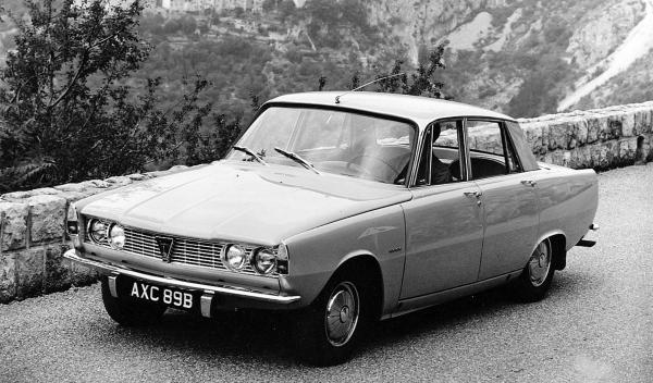 Rover P6 James May