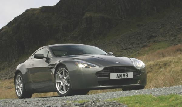 Aston Martin V8 Vantage James May