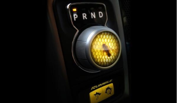 RAM 1500 Rumble Bee Concept Detalle Interior