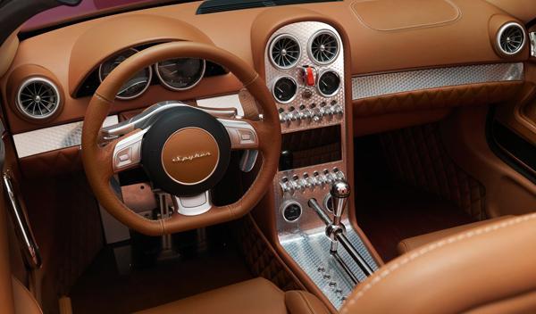 Spyker B6 Venator Spyder Concept interior
