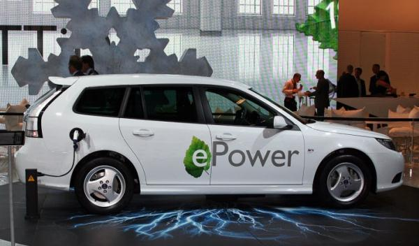 Saab 93 epower eléctrico
