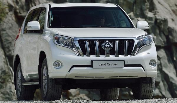 Toyota Land Cruiser 2014 frontal