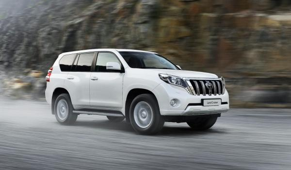 Toyota Land Cruiser 2014 lateral