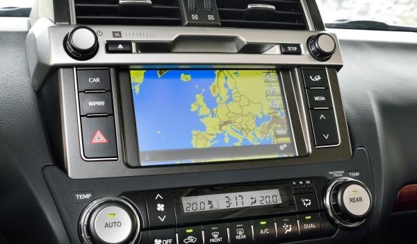 Toyota Land Cruiser 2014 navegador