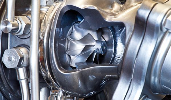Turbina del motor SIDI 1.6 Turbo 170 de Opel