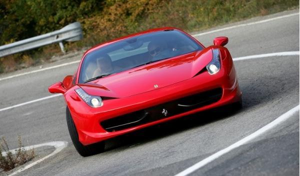 Ferrari 458 Scuderia Delantera
